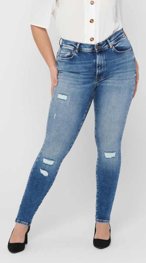 Dámské džíny pro silnější stehna