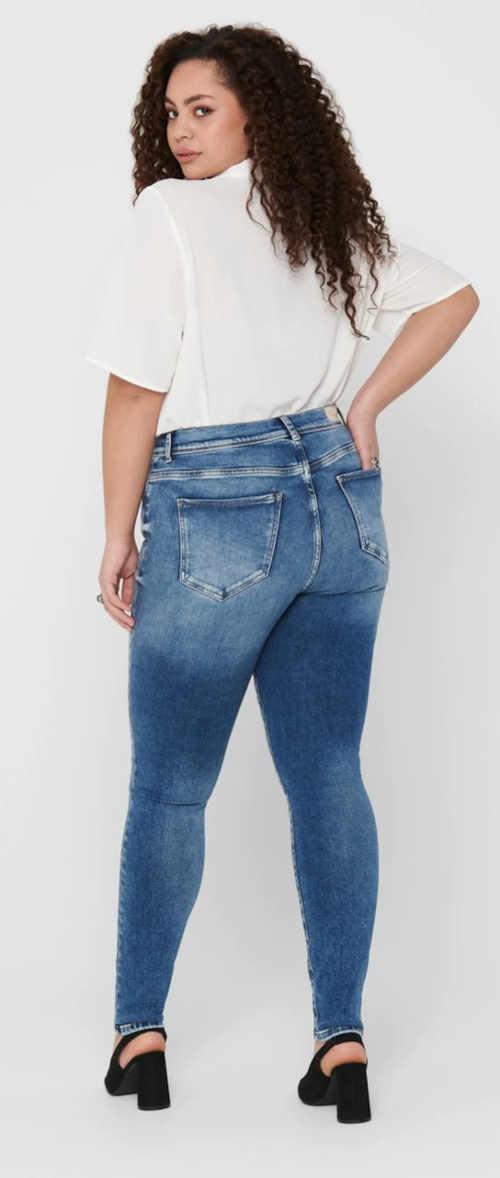 Elastické džíny pro větší zadek