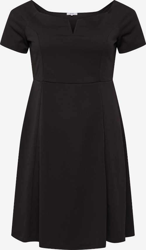 černé dámské společenské šaty