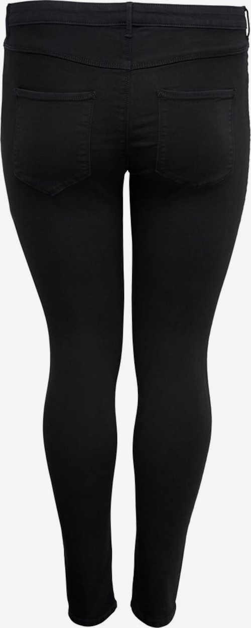 moderní černé džíny z příjemného materiálu