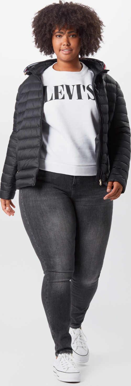 Sportovní dámské džíny pro silnější postavu
