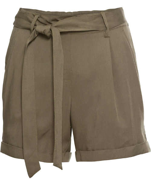 Elegantní hnědé dámské šortky