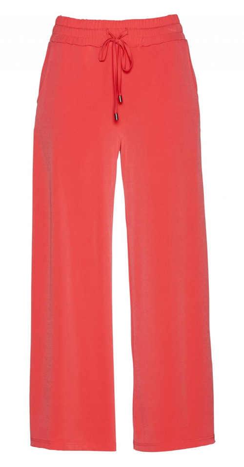 dámské pohodlné kalhoty s regulací v pase