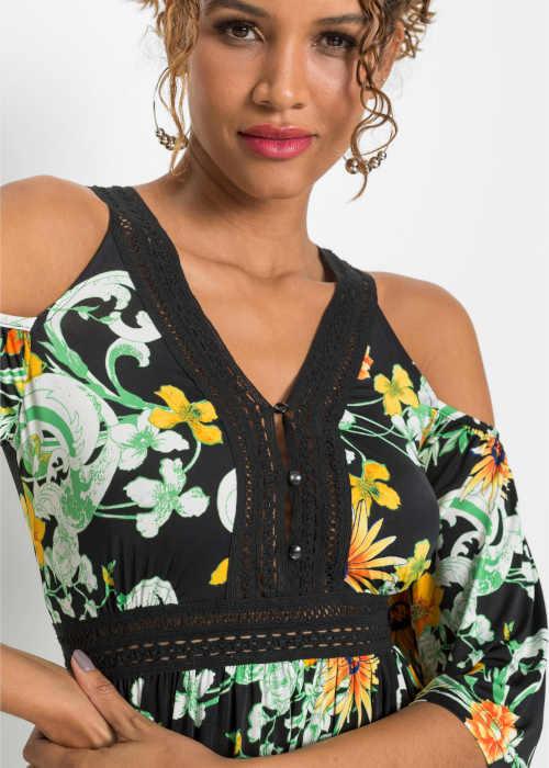 krátké dámské květované šaty