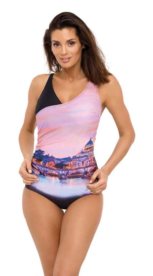 moderní dámské barevné plavky