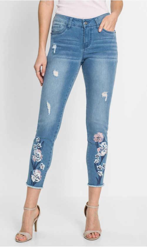 dámské skinny moderní džíny