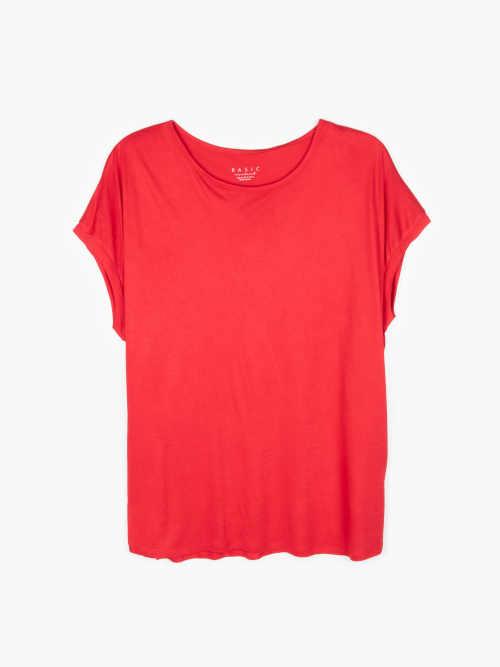 kvalitní tričko volného střihu