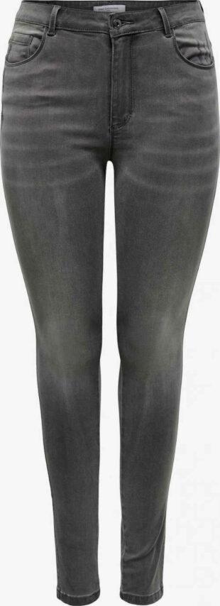 Dámské kvalitní moderní džíny v tmavě šedém provedení