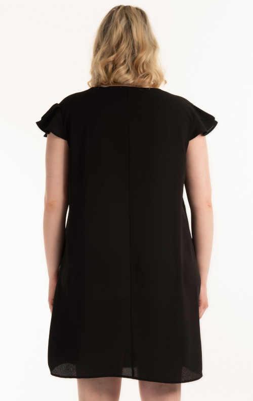 dámské šaty s volánem