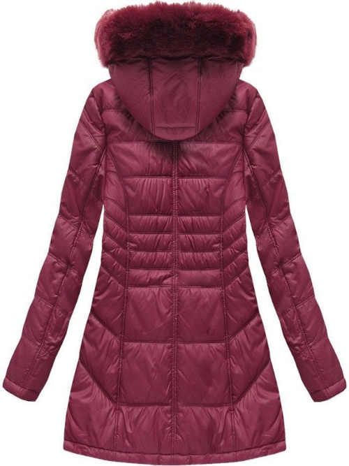 bunda na zip s kapsami