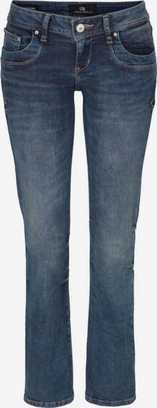 dámské dlouhé džíny about you