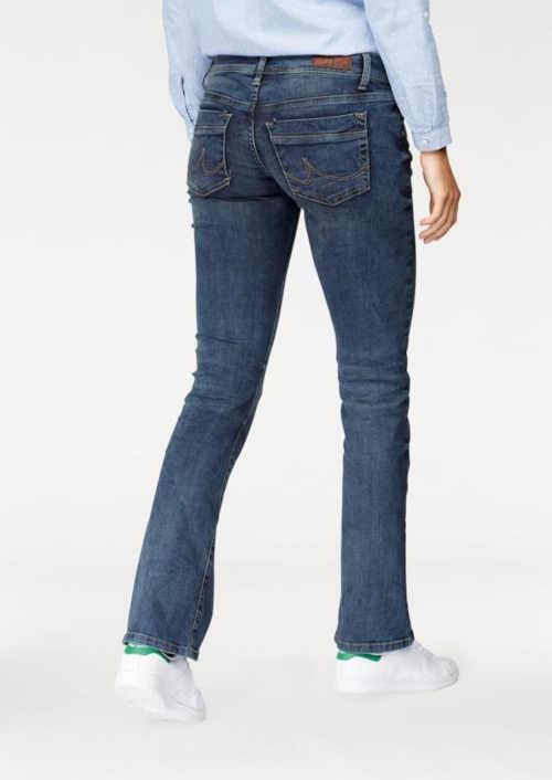 dlouhé dámské denimové kalhoty