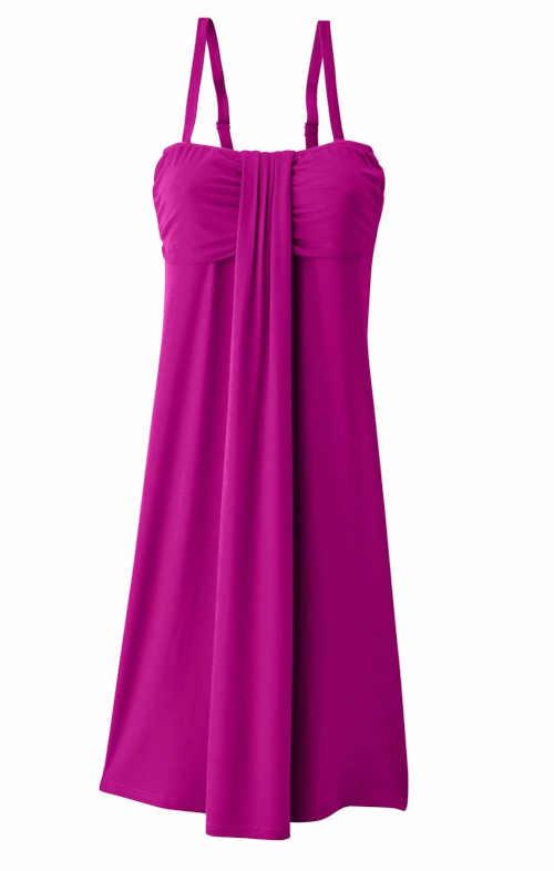 letní elegantní volné šaty