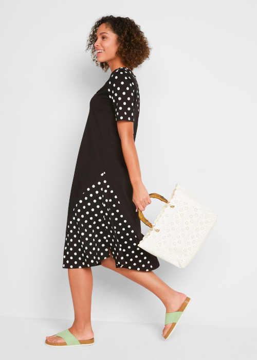 puntíkaté dámské šaty Bonprix