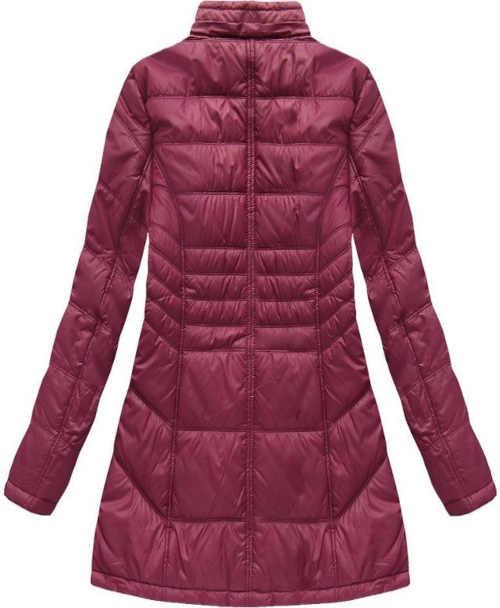 zimní prošívaná bunda s kapucí