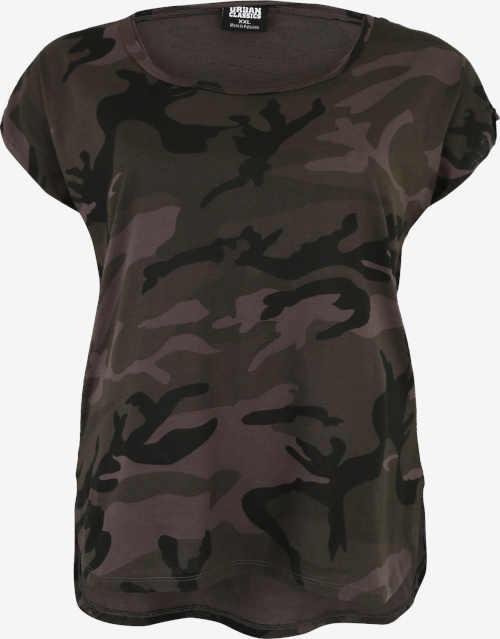 Kvalitní tričko s krátkým rukávem v nadčasovém army stylu
