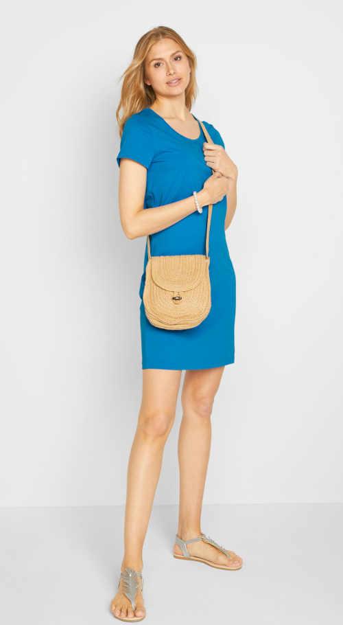 šaty s krátkým rukávem Bonprix