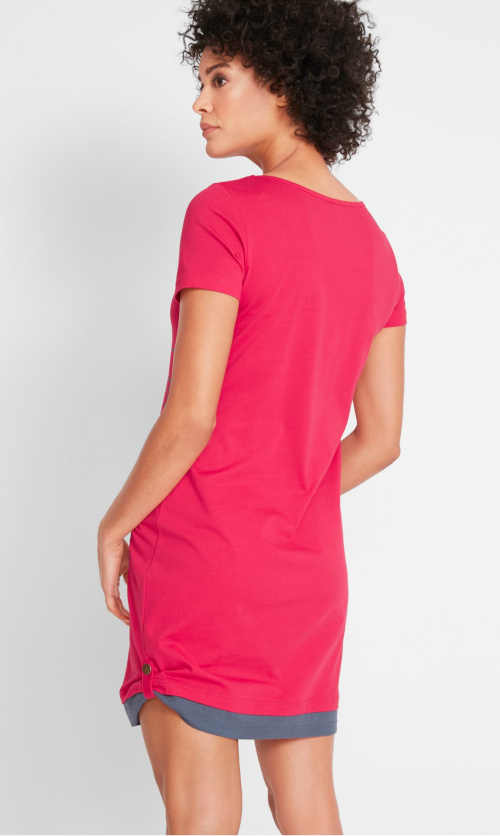 šaty z příjemného materiálu