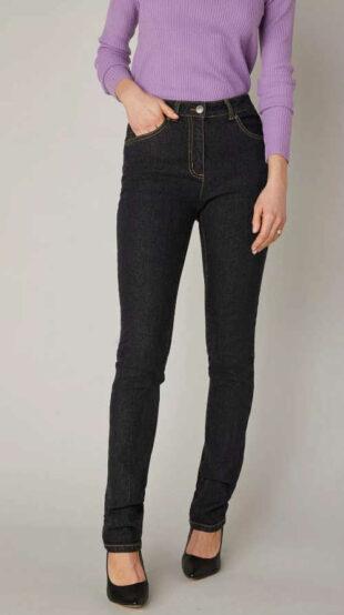 Strečové dámské džíny v módních barevných variantách